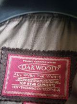 Veste cuir OAKWOOD
