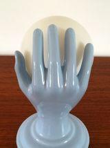 Applique main en céramique vintage années 70