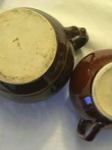 Cafetière théière ancienne