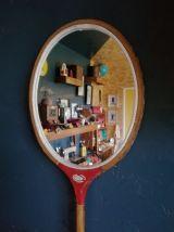 "Miroir, raquette miroir, raquette badminton - ""Badminton Rou"