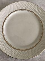 Série de 8 assiettes plates Moulin des Loups Orchies