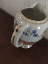 Lot cafetière et pot à lait  D R B Limoges France.