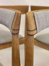 Lot de 4 chaises d'Hans Olsen pour Frem Rojl Danemark