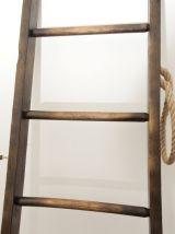 Échelle de bibliothèque en bois / peintre 195 cm