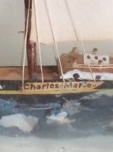 Bouteille bateau Charles-Marie