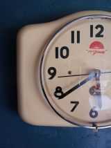 """Horloge vintage, pendule murale """"15 jours"""""""