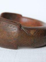 Ancien bracelet de cheville. Bronze ou cuivre. Afrique.