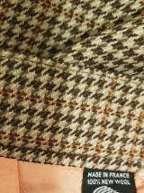 Jupe a careaux en laine