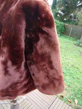 Veste fourrure véritable Mouton doré 1955 aucune usure parfa