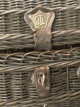 Ancien panier tressé bressan à volaille
