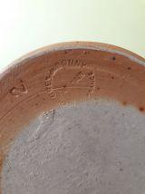 Pot/pichet  à lait ou eau en grés signé