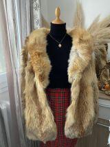 Manteau en fourrure au Renard Bleu