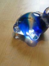 petite tortue en cristal presse papier    *