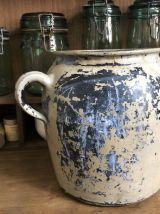 Ancien pot en grès
