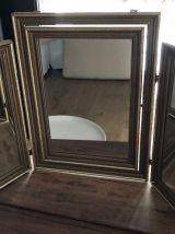 Miroir triptyque basculant