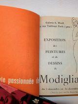 La vie passionnée de Modigliani. André Salmon. 1960