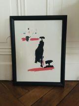 Illustration encadrée Picasso Toros y Torerros