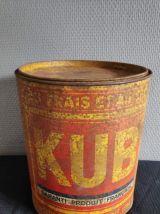 4 boites en métal anciennes
