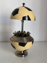 Porte-cigarettes vintage 1960 ballon football boîte japon -