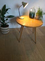 Table basse scandinave pieds compas