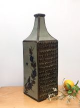 Grand vase rectangulaire vintage