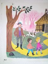 Affiche scolaire - Fernand Nathan 1965