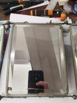 Miroir triptype de barbier