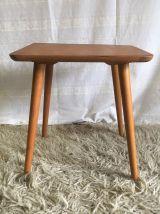 Table basse en bois massif – années 50