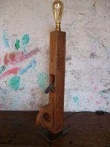 LAMPE - VINTAGE - RABOT - VARLOPE -