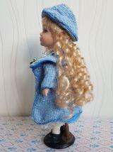 Ancienne poupée porcelaine 32 cm