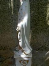 Vierge marie en porcelaine de Paris