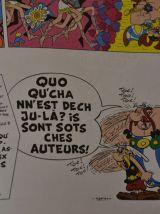 """BD """"Astérix i rinte à l'école"""""""