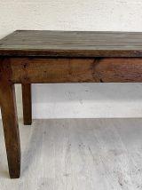 Grande table de ferme XIXème