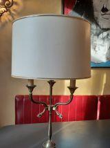 Grande lampe en bronze