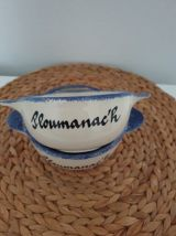 Duo de bols traditionnels de Bretagne - Ploumanac'h Pornic