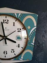 """Horloge vintage, pendule murale """"Junghans Art Déco"""""""