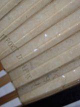 Ancien éventail avec inscription japon