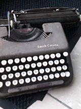 machine a ecrire smith corona des années 50