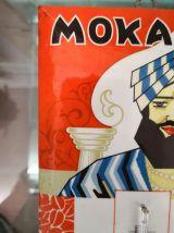 Thermomètre publicitaire café mokaril