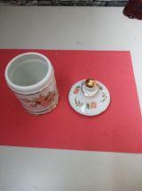 pot a sucre en porcelaine vintage