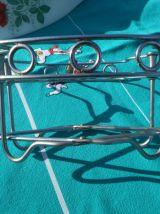 plat creux ovale Arcopal avec porte plat extensible métal