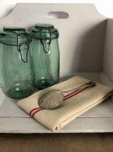 Caisse / carosse  de lavandière, étagère