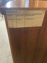 Bibliothèque Scandinave en teck Formule Kempkes 1950