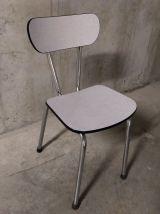 Chaise en formica années 60