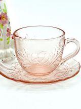 Tasses à thé Arcoroc Rosa