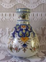Ancien vase ventru Faience De Desvres -Boulogne