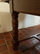 Table salle à manger rustique chêne massif