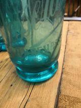 Siphon bleu des années 30