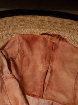 veste cuir agneau vintage