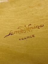 Dessous de plat en faïence de Sarreguemines